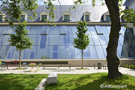 Sciences Po Reims, Architectes Reichen & Robert, architecture
